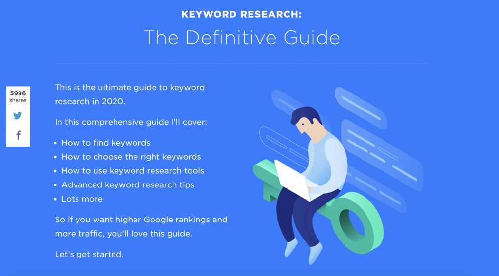keyword search for seo