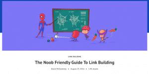 beginners link building ahrefs